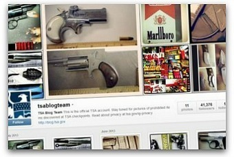 TSA joins Instagram to show off confiscated weapons | Communication Advisory | Scoop.it