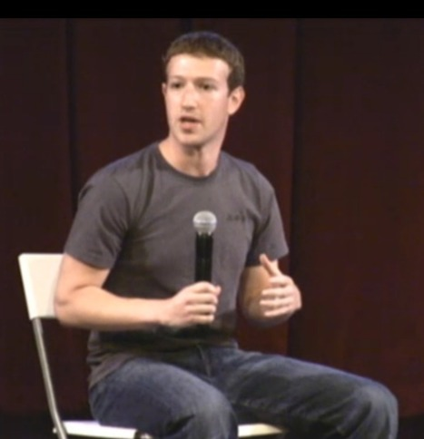 """Zuck: """"If I were starting (Facebook) now, I would have stayed in Boston."""" 