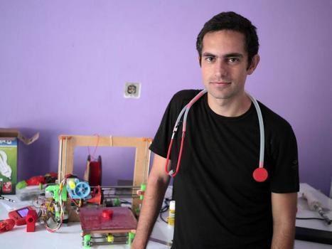 Gaza doctor 3D printing stethoscopes after eight years under blockade | Peer2Politics | Scoop.it