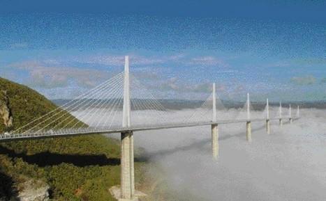 Viaduc de Millau : le prodige a 10 ans - Transport et infrastructures | Cahier des Architectes | Scoop.it