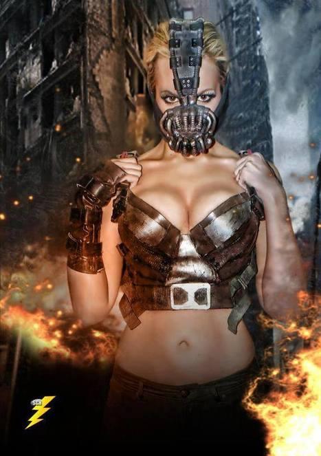 #Cosplay Sexy : Bane | Actu Geek, High-Tech sur le blog du geek ! | Cosplay | Scoop.it