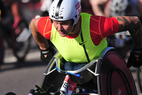 Paralympian David Weir breaks wheelchair mile record   Scooters don't have to be red!   Scoop.it