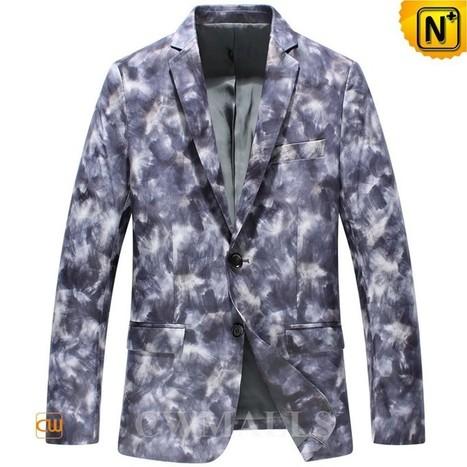 CWMALLS Mens Designer Leather Blazer CW816127 | Leather Blazer Jacket | Scoop.it