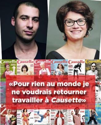 «Pour rien au monde je ne voudrais retourner travailler à Causette» | DocPresseESJ | Scoop.it