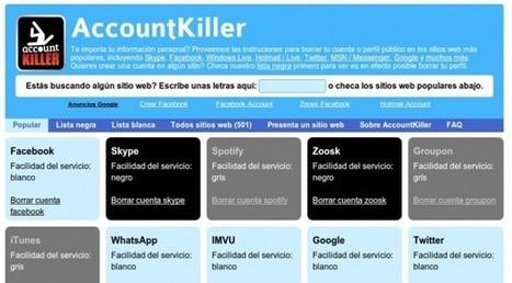 Opciones para borrar nuestro rastro de Internet | Recull diari | Scoop.it