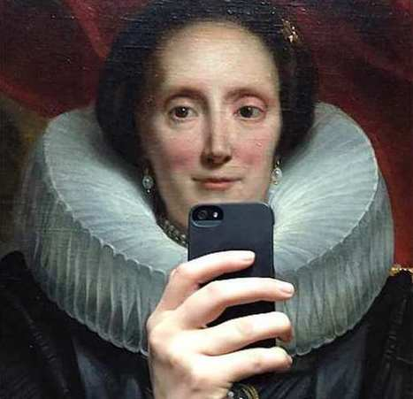 Classic Museum Portrait Paintings Casually Taking Selfies [PHOTOS] | Inspired By Design | Scoop.it