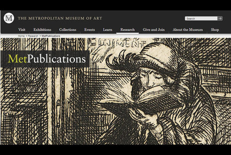 Met Museum launches major web resource offering access to hundreds of its publications | Archaeology News | Scoop.it