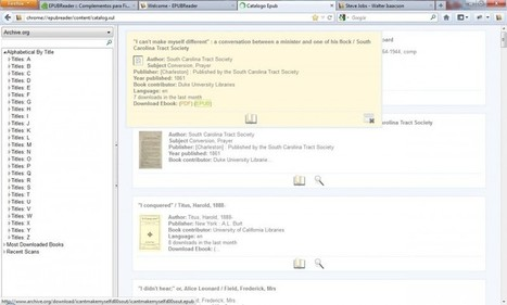 EPUBReader, convierte Firefox en un lector de libros electrónicos | Recursos Online | Scoop.it