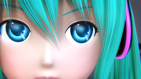 Is Hatsune Miku a better pop star than Justin Bieber? A video explainer on the future of pop stardom | Peer2Politics | Scoop.it