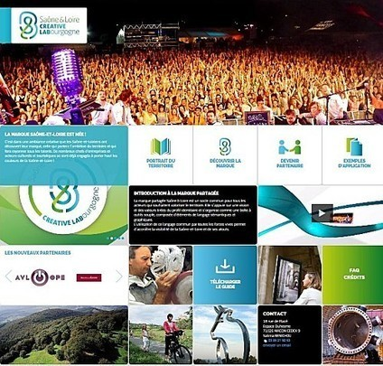 La marque partagée de la Saône et Loire est née | co-marketing terri | Scoop.it