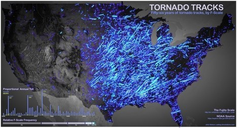 Tornado Tracks | Visual.ly | Politically Incorrect | Scoop.it