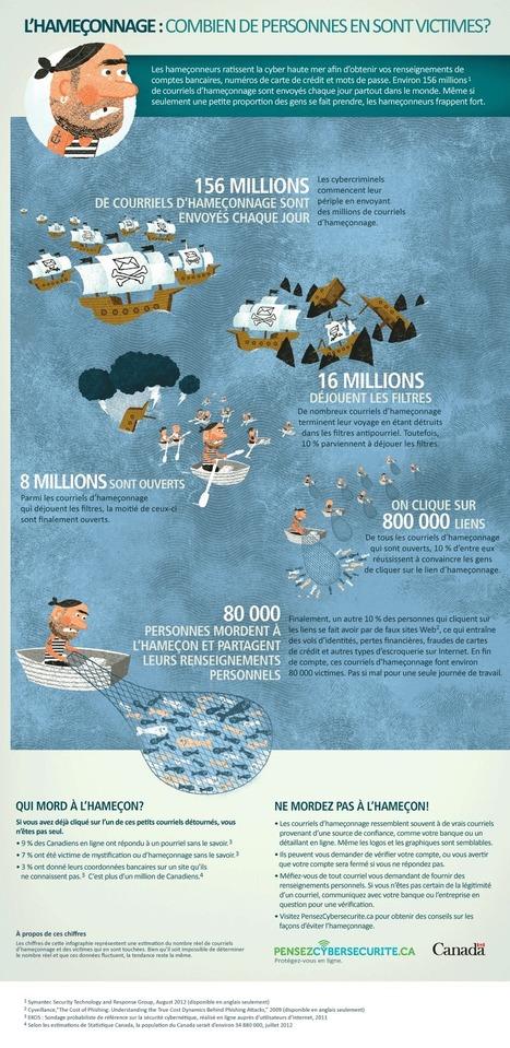 L'hameçonnage : combien de personnes en sont victimes? [Infographic]   Veille Techno   Scoop.it