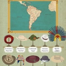 Around The World In 80 Hats | Visual.ly | World Geography | Scoop.it