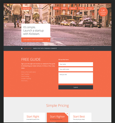 Energize your Business with Kickstart Pro   Trailing WordPress   Scoop.it