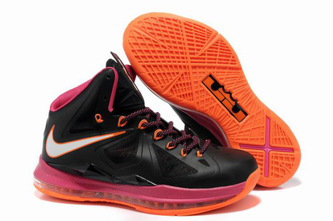 Nike Lebron 10 Miami Floridians Black Pink Orange - Discount Nike Lebron 10 | 2012 Fashion Moncler Womens Jackets | Scoop.it