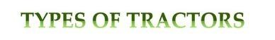 Different Types of Tractors | Tractor Brands | Scoop.it