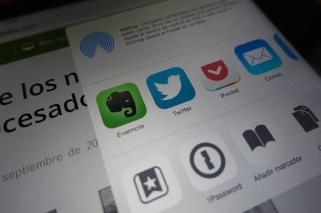 Evernote para iOS 8, una nueva forma de exprimir una de las aplicaciones más útiles | EvernoteTips | Scoop.it