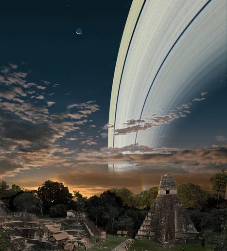 If Earth Had a Ring Like Saturn   un peu de détente   Scoop.it