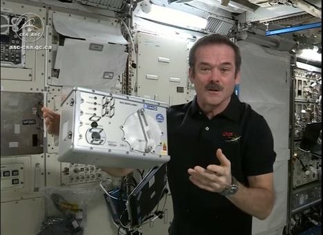 Recherche spatiale et innovation en santé, des liens tricotés serrés   Agence Science-Presse   Agence Science-Presse   Scoop.it