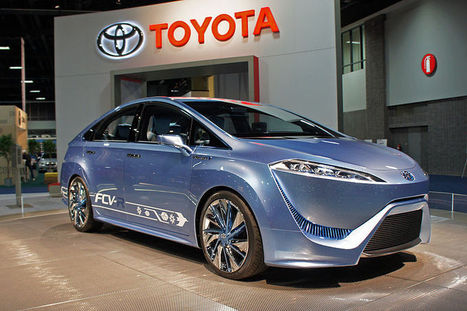 Toyota bumps up hydrogen-powered car in US to 2015 (Update) | Sustain Our Earth | Scoop.it
