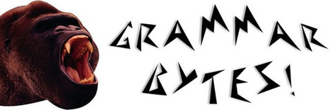 Grammar Bytes! Grammar Instruction with Attitude | ELA Web Resources | Scoop.it