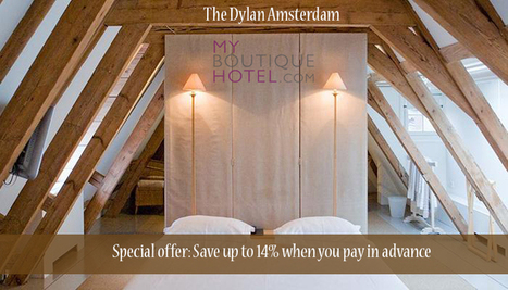 This boutique hotel along the Keizersgracht canal... - my-boutique-hotel | Myboutiquehotel.com - The Specialist in Boutique Hotels and Design Hotels | Scoop.it