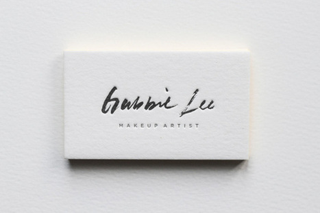 15 New Business Cards Collection from April | Design Inspiration and Creative Ideas | Scoop.it