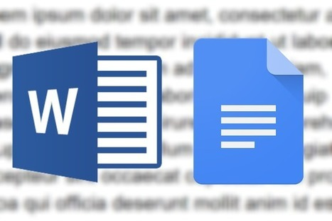 Microsoft Word versus Google Docs | Moodle and Web 2.0 | Scoop.it