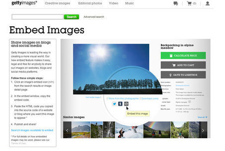 Getty makes 40 million stock photos available for free | Photography | Creative Bloq | M-learning, E-Learning, and Technical Communications | Scoop.it