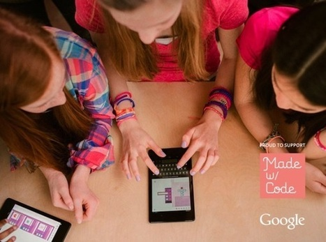 3ders.org - Shapeways teams up with Google to inspire girls to code & 3D print bracelets | 3D Printer News & 3D Printing News | Women & Tech | Scoop.it