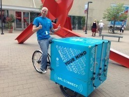 "Denver Public Library is Introducing ""DPL Connect"", A Mobile Library and Hotspot That Uses Pedal Power Later This Week 