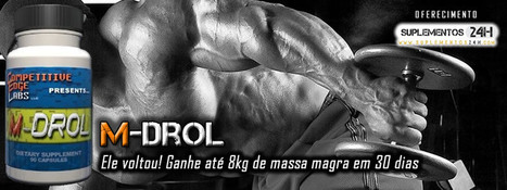 M-Drol | M-Drol - O Pro-Hormonal da CELabs | Scoop.it