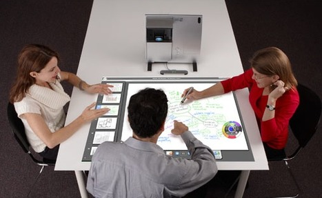 EBeam Turns Your Table Into an Interactive Surface | UX Design Process | Scoop.it