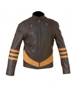 X Men Wolverine Origins Logan Biker Leather Jacket | Celebrity Smashing Hugh Jackman leather jackets | Scoop.it