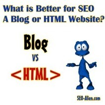Is a Blog Great for SEO or is an HTML Site Better? | Allround Social Media Marketing | Scoop.it
