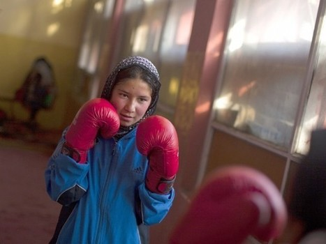 Afghan women learn how to pack a punch – The Express Tribune | Women and Terrorism. | Scoop.it
