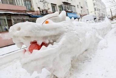 13 Coolest Yard Snow Sculptures | Strange days indeed... | Scoop.it