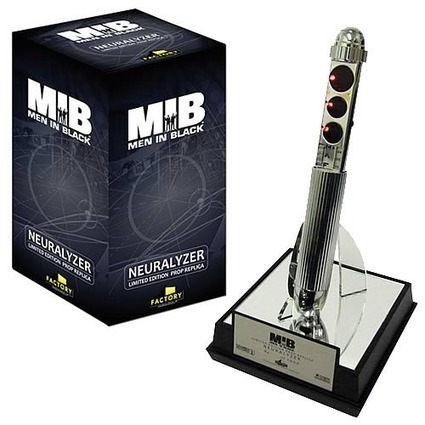 This Men in Black Memory Erasing Pen Is All About Form, Not About Function | All Geeks | Scoop.it