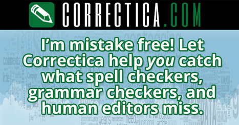 Correctica just checked my site for errors! | Instruction & Technology | Scoop.it