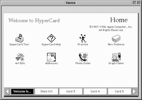 Apple's original software construction kit: HyperCard turns twenty-five years old today | Modern Educational Technology and eLearning | Scoop.it