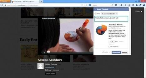 Firefox 23, socialità e JavaScript forzato | My technocorner | Scoop.it