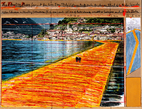 Christo and Jeanne-Claude at Galerie Gmurzynska | ARTnews | Art: painting tips | Scoop.it