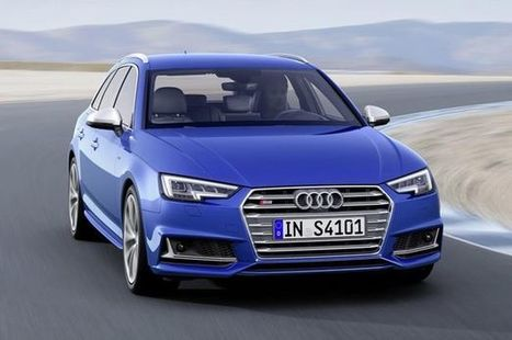 First look at the Audi S4 Avant before it arrives in UK dealers | SJB Autotech News | Scoop.it
