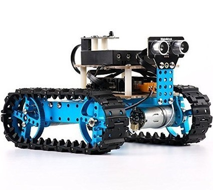 Makeblock Flagship Store (Sold by Makeblock) – Makeblock Starter Robot Kit – Premium Quality – STEM Education – Arduino – Scratch 2.0 – Programmable Robot Kit for Kids to Learn Coding, Robotics and... | Arduino Focus | Scoop.it