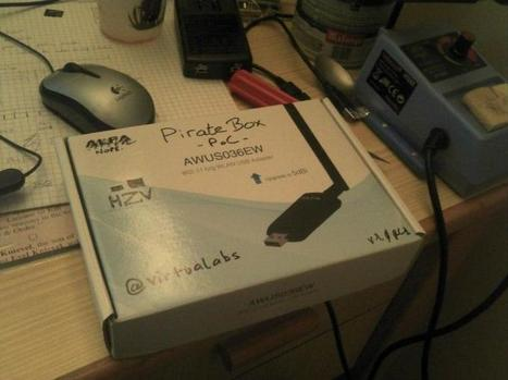 Ratbox, une piratebox à base de Raspberry Pi - virtualabs.fr | #PirateBox News | Scoop.it