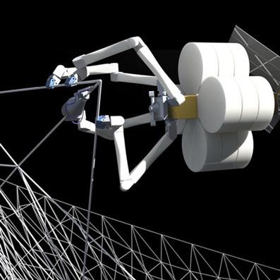NASA develops 3D printing factory in space - Dezeen | World of CG, VFX & 3D | Scoop.it