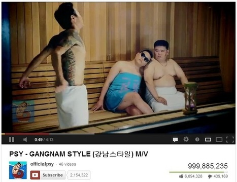Gangnam Style is Over 1 Billion Views | Already | Social Media Useful Info | Scoop.it