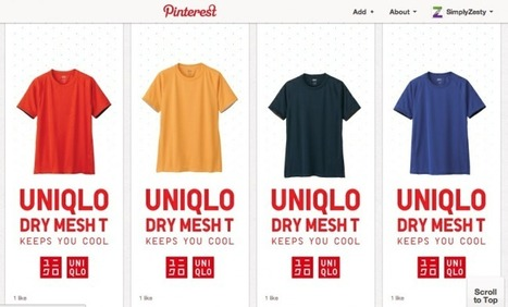 UNIQLO Create Brilliant Pinterest Campaign Through Clever Pinning | Social Mind | Scoop.it