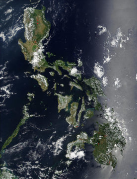 "Parts of Philippines may submerge due to global warming (""7.6 to 10.2 cm. per decade sea level rise"") 