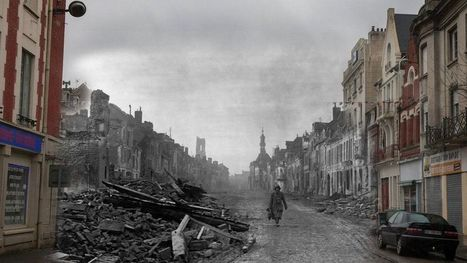 PICTURES: The Battle of the Somme then and now | Études sociales | Scoop.it
